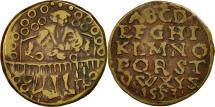 World Coins - Germany, Nuremberg Token, 1553, EF(40-45), Copper