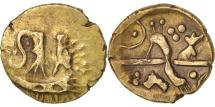 "Britain, Belgae, 1/4 Stater, ""Hampshire Thunderbolt"" type, AU(50-53), ABC:767"