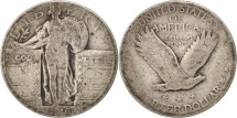 Us Coins - United States, Standing Liberty Quarter, 1926, Philadelphia, KM 145