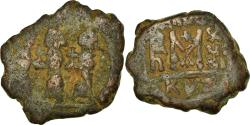 Ancient Coins - Coin, Heraclius, with Martina and Heraclius Constantine, Follis, 628-629