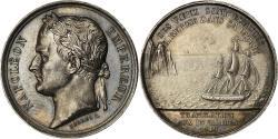 World Coins - France, Token, Translation des Cendres de Napoléon Ier aux Invalides, 1840