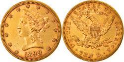 Us Coins - Coin, United States, Coronet Head, $10, Eagle, 1898, U.S. Mint, Philadelphia