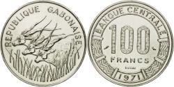 World Coins - Coin, Gabon, 100 Francs, 1971, Paris, ESSAI, , Nickel, KM:E3