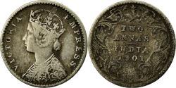 World Coins - Coin, INDIA-BRITISH, Victoria, 2 Annas, 1901, , Silver, KM:488