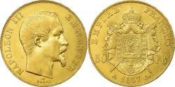 World Coins - Coin, France, Napoleon III, 50 Francs, 1857, Paris, , Gold