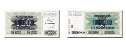 World Coins - Bosnia - Herzegovina, 100,000,000 Dinara, 1993, KM #37, 1993-11-10, UNC(65-70),.