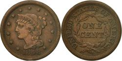 Us Coins - Coin, United States, Braided Hair Cent, Cent, 1848, U.S. Mint, Philadelphia
