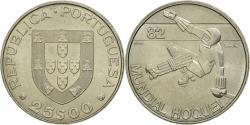 World Coins - Coin, Portugal, 25 Escudos, Undated (1982), Lisbon, , Copper-nickel