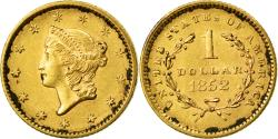 Us Coins - Coin, United States, Liberty Head Dollar, 1852, Philadelphia, , Gold