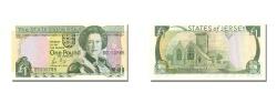 World Coins - Jersey, 1 Pound, KM #15a, UNC(65-70), BC