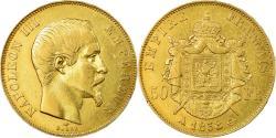 World Coins - Coin, France, Napoleon III, 50 Francs, 1858, Paris, , Gold, KM 785.1