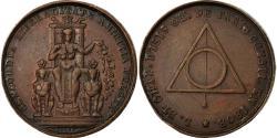 World Coins - France, Token, Masonic, Orient de Paris, Loge d'Isis, 1808, , Copper
