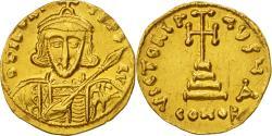 Tiberius III Apsimar, Solidus, Constantinople, , Gold, Sear:1360