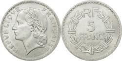 World Coins - Coin, France, Lavrillier, 5 Francs, 1950, Paris, , Aluminum, KM:888b.1