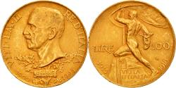 World Coins - Coin, Italy, Vittorio Emanuele III, 100 Lire, 1925, Rome, , Gold, KM:66