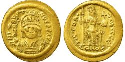 Ancient Coins - Coin, Justin II, Solidus, 565-578 AD, Constantinople, , Gold, Sear:345