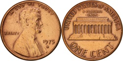 Us Coins - United States, Lincoln Cent, Cent, 1975, U.S. Mint, Denver,