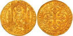 World Coins - Coin, France, Philippe VI, Lion d'or, Undated (1338), , Gold