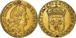 Ancient Coins - Coin, France, Louis XIV, 1/2 Louis d'or, 1691, La Rochelle, , Gold