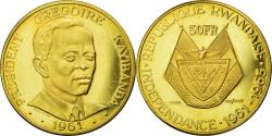World Coins - Coin, Rwanda, 50 Francs, 1965, , Gold, KM:3