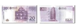 World Coins - Macau, 20 Patacas, 2008, KM #109, UNC(65-70), AB624891