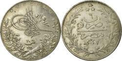 World Coins - Coin, Egypt, Muhammad V, 20 Qirsh, 1913, Misr, , Silver, KM:310