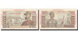 World Coins - Martinique, 20 Francs, Undated (1947-49), VF(30-35), KM:29