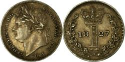 World Coins - Coin, Great Britain, George IV, Penny, 1827, , Silver, KM:683