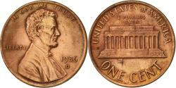 Us Coins - United States, Lincoln Cent, Cent, 1986, U.S. Mint, Denver, , Copper