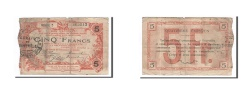 World Coins - France, Fourmies, 5 Francs, 1917, F(12-15), Pirot:59-1135