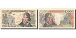 World Coins - France, 100 Nouveaux Francs on 10,000 Francs, Bonaparte, 1958, 1958-10-30