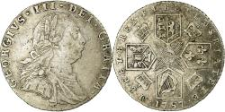 World Coins - Coin, Great Britain, George III, 6 Pence, 1787, London, , Silver