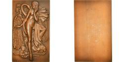 World Coins - France, Medal, Art Déco, Leda et le Cygne, Arts & Culture, 1975, Pelletier