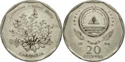 World Coins - Coin, Cape Verde, 20 Escudos, 1994, , Nickel plated steel, KM:33