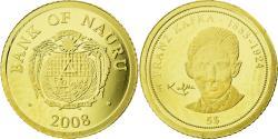 World Coins - Coin, Nauru, 5 Dollars, 2008, Franz Kafka, , Gold