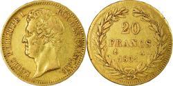 World Coins - Coin, France, Louis-Philippe, 20 Francs, 1831, Paris, , Gold, KM:746.1