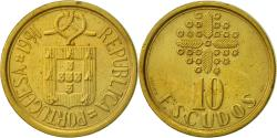World Coins - Portugal, 10 Escudos, 1991, , Nickel-brass, KM:633