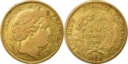 Ancient Coins - Coin, France, Cérès, 10 Francs, 1851, Paris, , Gold, KM:770