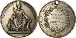 World Coins - Algeria, Medal, Comice Agricole de Souk-Ahras, 1882, Bovy, , Silver