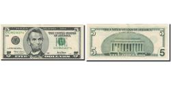 Us Coins - Banknote, United States, Five Dollars, 2001, KM:4594, UNC(60-62)