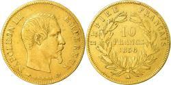 Ancient Coins - Coin, France, Napoleon III, Napoléon III, 10 Francs, 1856, Paris,