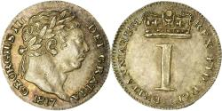 World Coins - Coin, Great Britain, George III, Penny, 1817, , Silver, KM:668