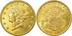 Us Coins - Coin, United States, Liberty Head, $20,1898,Philadelphia,,Gold,KM 74.3