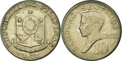 World Coins - Coin, Philippines, 10 Sentimos, 1972, , Copper-nickel, KM:207