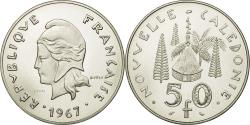 World Coins - Coin, New Caledonia, 50 Francs, 1967, Paris, ESSAI, , Nickel, KM:E13