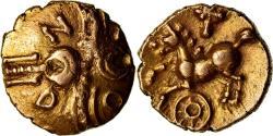 Ancient Coins - Coin, Trinovantes, 1/4 Stater, 20-1 BC, Andoco, , Gold