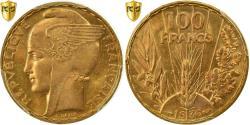 World Coins - Coin, France, Bazor, 100 Francs, 1936, Paris, PCGS, MS64, Gold, KM:880, graded