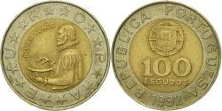 World Coins - Coin, Portugal, 100 Escudos, 1992, , Bi-Metallic, KM:645.1
