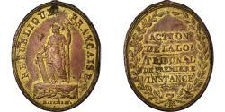 World Coins - France, Medal, Constitution, Action de la Loi, Tribunal de Première Instance