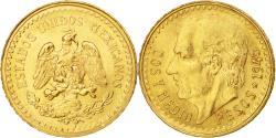 World Coins - Coin, Mexico, 2-1/2 Pesos, 1945, Mexico City, , Gold, KM:463